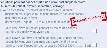 Declaration D Impot Comment Doper Son Quotient Familial Et Reduire